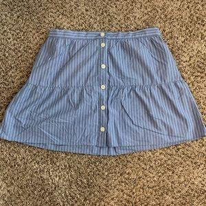 Madewell Button Mini Skirt